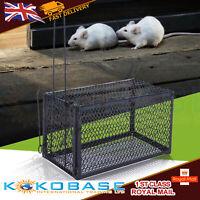 2pc Large Metal Mouse Trap Humane Live Catcher Rat Vermin Rodent Cage Traps