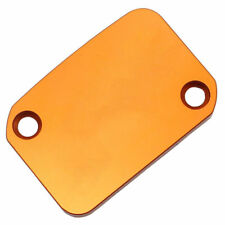 Orange Motorcycle Front Brake Pump Oil Cup Reservoir Cap Cover For KTM 640 New