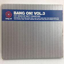 Bang On! Vol 3 Matt Crawford - 2 CD Various Artists Dance Music Classic