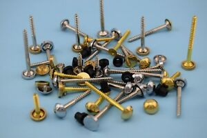 Mirror Screws (Exterior Pure Brass Outdoor) Size/Type, Flat, Dome,Quality,Signs