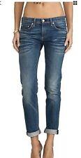 Rag & Bone The Dre Boyfriend Skinny Jeans Bradford Wash Size 25 $255