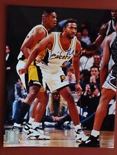 New listing DERRICK McKEY INDIANA PACERS SIGNED 8X10 PHOTO - ALABAMA