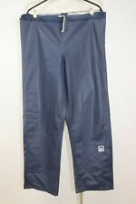 Vintage Helly Hansen Men's D 433 PVC Laminated Raincoat Outdoor Pants sz S