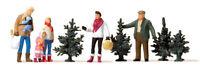 Preiser 10627 Weihnachtsbaumverkauf