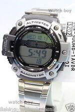 SGW-300HD-1A Casio Watch Pressure Sensor Temperature Stainless Steel Band Men's