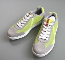 New Authentic Prada Mens Suede/Mesh Sneakers Shoes UK 7, US 8, 4E2501
