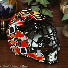Calgary Flames NHL Mini Hockey Goalie Mask by Franklin