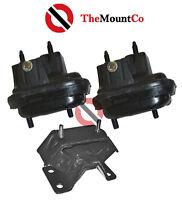 Auto//Manual Engine Mount Set 3 pcs To Suit Daewoo Cielo  95-98  1.5L