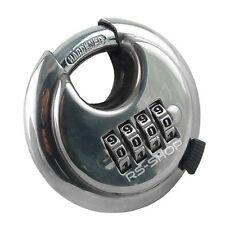 4 Digit Combination 65mm Disc Lock Padlock with Hardened Steel