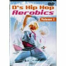 D's HIP HOP AEROBICS Vol 1 (DVD) drew's famous workout step-by-step tone NEW