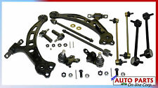 FOR TOYOTA CAMRY 97-01 AVALON 2 CONTROL ARMS 4 TIE RODS 2 BALL JOINTS 4 SWAY BAR