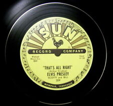 3 X  ELVIS PRESLEY SUN RECORDS VINYL LP BOWLS HAND CRAFTED IDEAL GIFT .