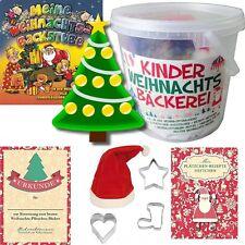 8-tlg Kinder-Set Weihnachtsbäckerei; Eimer mit CD Meine Weihnachts-Backstube uvm