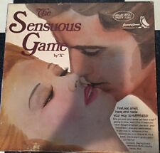"RARE 1974 The SENSUOUS Game by ""X"" Gamut of Games Couples"