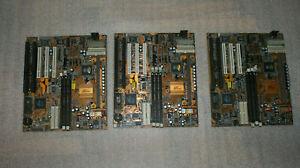 Motherboard PC Chips M747 BX Pro slot1 3pcs