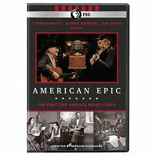 AMERICAN EPIC DVD - ROBERT REDFORD - T BONE BURNETT - PBS