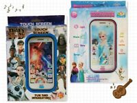KIDS TOUCH SCREEN IPHONE STAR WARS Pokemon Peppa Pig Frozen light and music