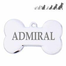 Placa chapa medalla de identificacion para collar perro gato mascota GRABADO