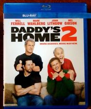 """Daddy's Home 2  """"  Blu-Ray Movie Disc, Blu-ray Case and Artwork"""