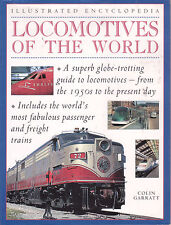 TRAINS - LOCOMOTIVES OF THE WORLD Colin Garratt **GOOD COPY**