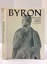 BYRON and His World By Derek Parker, Biography, Literature, Poet, Poetry, 1969