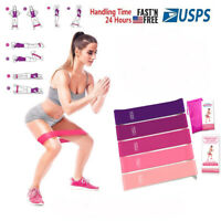 Workout Resistance Bands Loop Set Fitness Yoga Booty Leg Exercise Band CrossFit