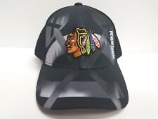 YOUTH Chicago Blackhawks Reebok Center Ice Cap Adjustable Mesh Hat