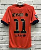 FC BARCELONA 20142015 AWAY FOOTBALL JERSEY CAMISETA SOCCER SHIRT #11 NEYMAR JR