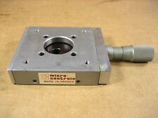Micro Controle Linear Stage 30mm x 32cm, 17mm Travel