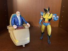 X-Men Action Figures Lot Toy Biz Wolverine Professor X Loose 90s