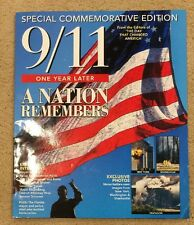 9/11 Special Commorative Edition  One Year later Magazine 2002