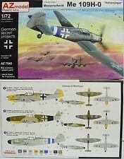 """Me 109 H-0 """"Nachthöhenjäger""""  , AZ Model, 1:72, Plastikmodellbausatz, Neuheit"""