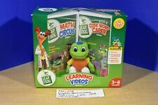 Leapfrog Learning Videos 2004 Math Circus/Code Word Caper Gift Set(330-078)