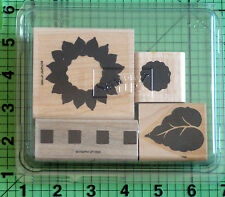 Definitely DecorativeSunflowers rubber stamp set by Stampin Up
