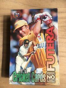 FUTERA 1995-96 CRICKET CARDS UNOPENED BOX LIMITED EDITION