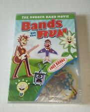 Bands On The Run Rubber Band Movie Children's DVD 2011 New Sealed