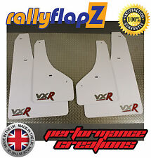 RallyflapZ Vauxhall ASTRA GTC VXR (2012+) pare boue Kit logo blanc argent/rouge