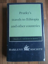 1991 HAKLUYT SOCIETY~PRUTKY'S TRAVELS IN ETHIOPIA & OTHER COUNTRIES~ABYSSINIA