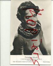 Hannelore Schroth, Unterschrift auf Rüdel-Foto