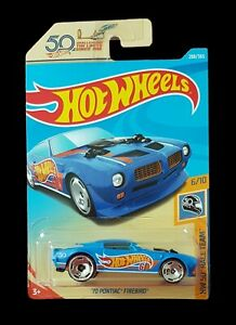 Hot Wheels 50th ANNIVERSARY '70 PONTIAC FIREBIRD HW 50 RACE TEAM