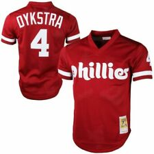 Mitchell & Ness Lenny Dykstra Philadelphia Phillies Cooperstown Collection Mesh