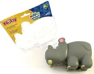 NUBY Hippo Spout Guard - Soft Protective Cover For Hard Faucets CHILD SAFETY 6m+