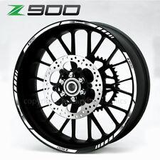 Z900 quality wheel decals stickers rim stripes Laminated Z 900 ninja white