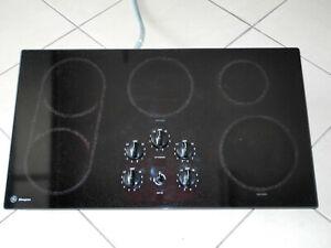 "GE MONOGRAM SERIES MODEL ZEU668A1BB 36"" ELECTRIC COOKTOP BLACK"