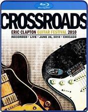 Eric CLAPTON-CROSSROADS GUITAR FESTIVAL 2010 - 2 Blu-rays-ORIGINALE IMBALLATO