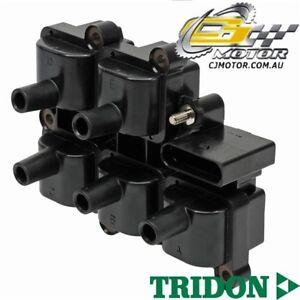TRIDON IGNITION COIL FOR Volkswagen Bora 11/99-05/01, V5, 2.3L AGZ