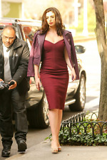 NWT CINQ A SEPT MULBERRY BIRCH DRESS SIZE 4 AS SEEN ON ANNE HATHAWAY