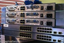 Cisco CCNA & CCNP Home Lab Kit IOS 15.1 3x 1841 2x3750 IOS 12.2