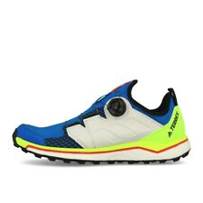 adidas Terrex Agravic BOA Glory Blue Non Dyed Signal Green Laufschuhe Trailschuh