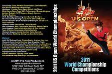 2011 ISKA U.S. Open World Martial Arts Championships DVD